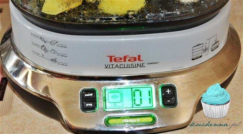 Recenzja: Parowar TEFAL Vitacuisine Compact VS 4003