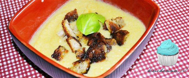 Zupa krem kalafiorowo-porowa