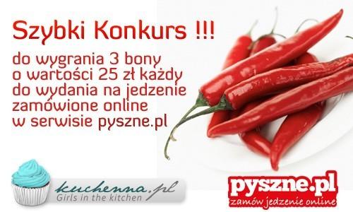 Szybki konkurs kuchenna.pl i pyszne.pl