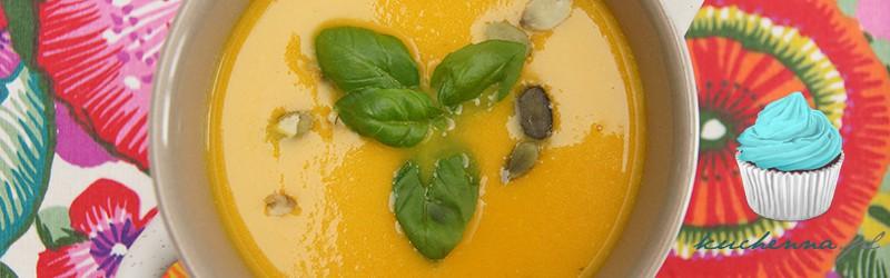 Zupa krem marchwiowo-imbirowy