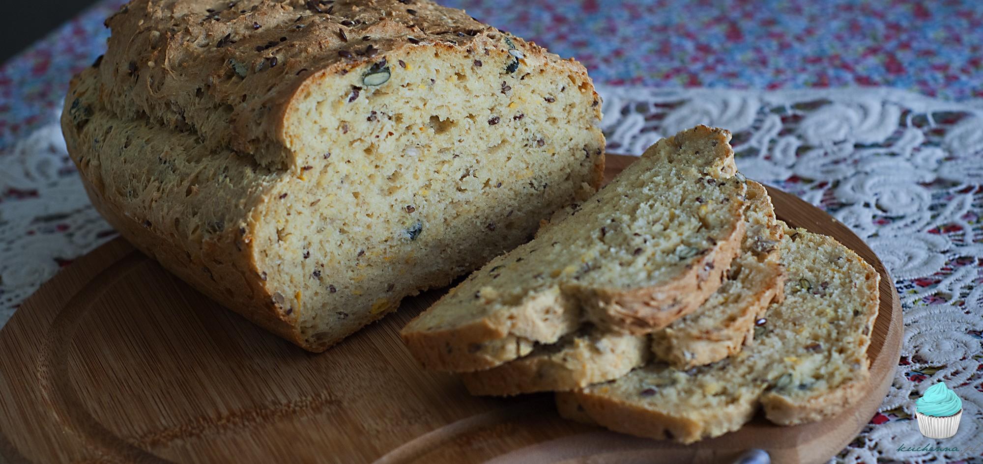 Chleb dyniowy z ziarnami